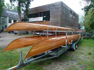 Boote sind verladen